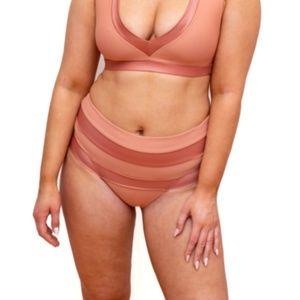 Rhonda High Waist Bikini Bottoms